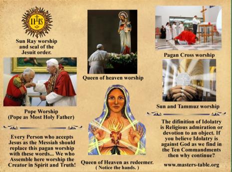 a pagan worship story